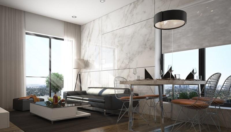 Chủ nhà cần cho thuê căn hộ chung cư Tràng An Complex căn góc tầng 06 full nội thất