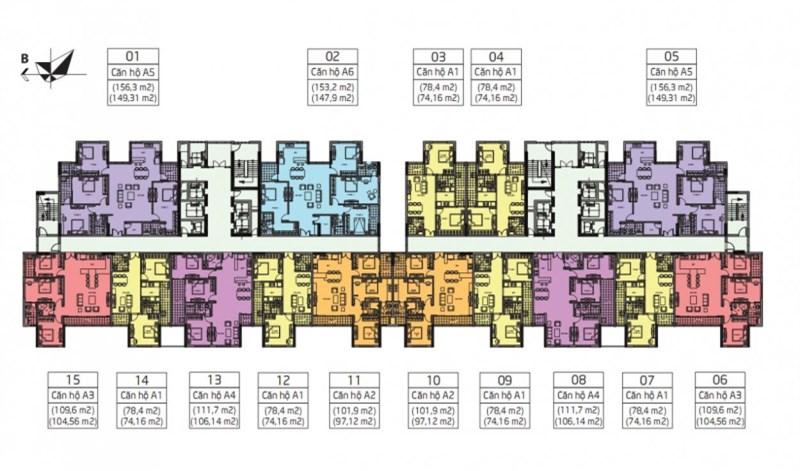 Amber Riverside 622 Minh Khai quần thể Times City, chỉ từ 26 triệu/m2, chiết khấu lên đến 1 tỷ đồng