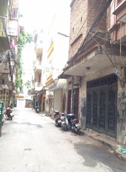 Bán nhà riêng Kim Đồng, ngõ ô tô tránh, MT: 4.44, giá: 5.6 tỷ