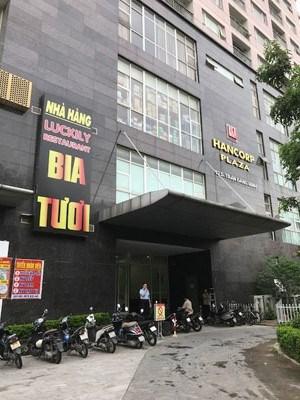 Chính chủ Cần bán căn hộ tháp đôi Làng Quốc Tế Thăng Long tòa Hancorp Đông, 72 Trần Đăng Ninh.