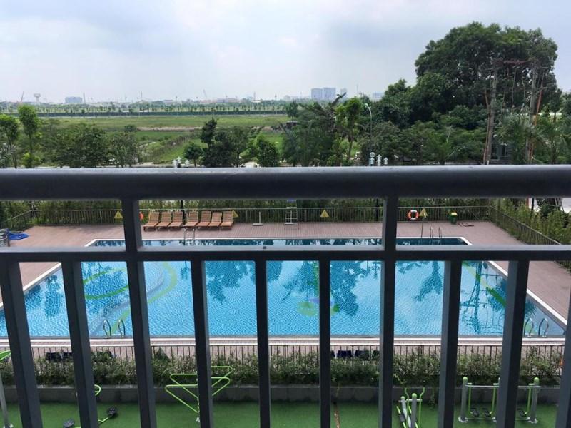 Cho thuê chung cư Ecohome Phúc Lợi, Long Biên, nhà cực đẹp, view bể bơi 78m2 3 ngủ.