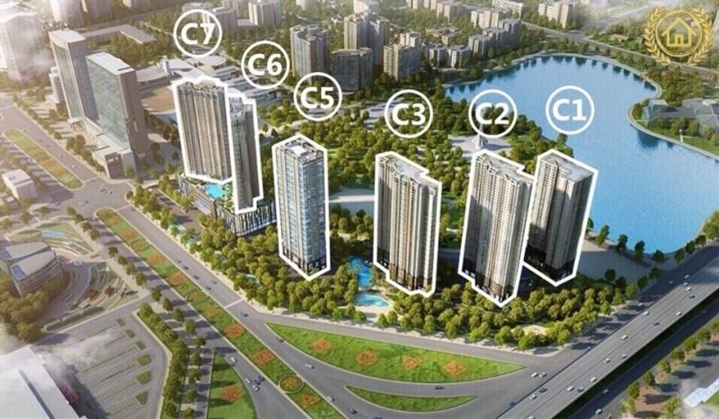 Cần tiền nên bán căn góc 3 phòng ngủ tòa C1 dự án Vinhomes Dcapitale Trần Duy Hưng