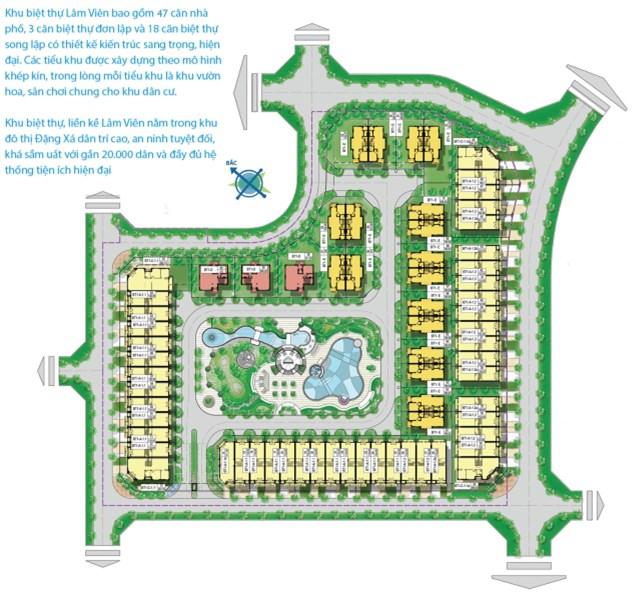 Chính chủ cần cho thuê biệt thự đơn lập khu Lâm Viên- KĐT Đặng Xá, Gia Lâm, Hà Nội. LH : 01293200999