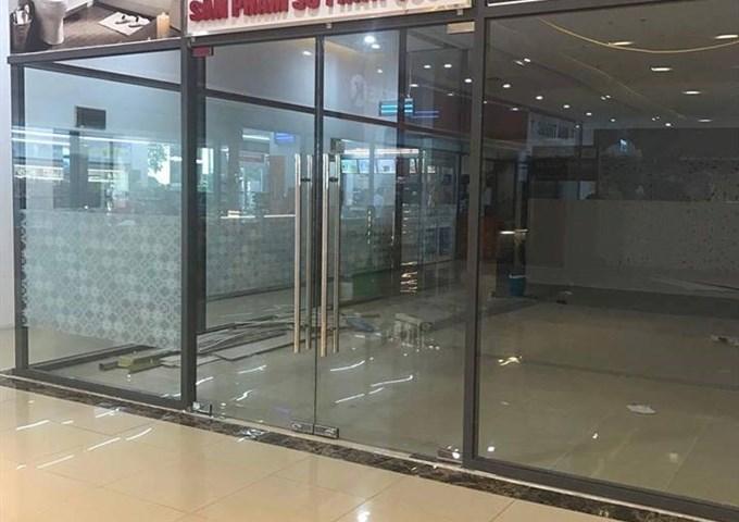 Cho thuê Văn phòng- Mặt bằng kinh doanh, tầng 1,2 chung cư đường Hoàng Quốc Việt.