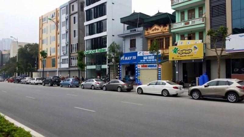 Cho thuê cửa hàng 1 tầng mặt phố Võ Chí Công, Tây Hồ. DT: 150m, MT: 9m. LH: 0972760089.
