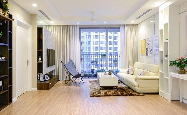 Cần cho thuê gấp căn góc 3 ngủ tầng đẹp chung cư Gelexia, 885 tam trinh 3 ngủ LH 0919271728