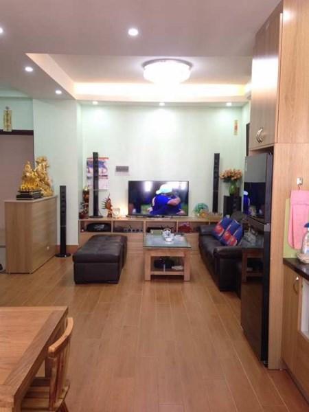 Cho thuê căn hộ CT3B Nam Cường- ngõ 234 Hoàng Quốc Việt,71m2, 2pn, giá 10 tr/th, full đồ đẹp.