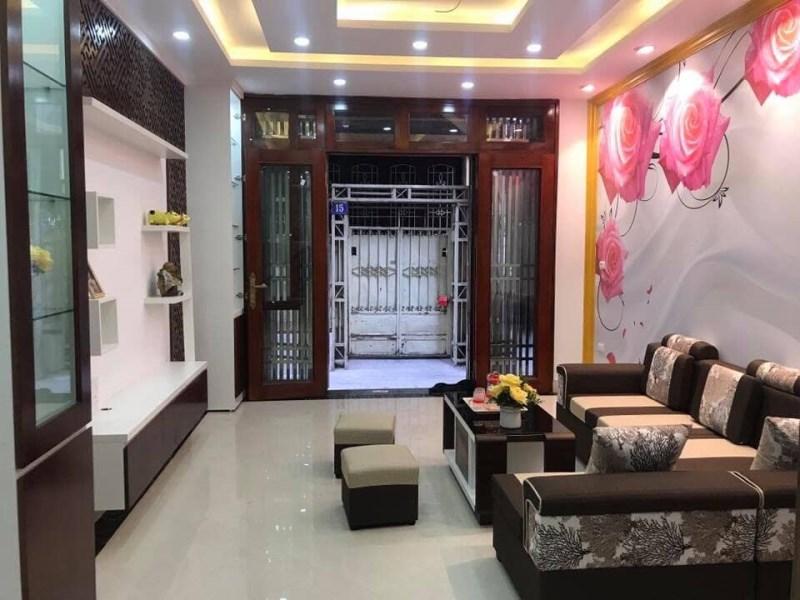 Nhà phân Lô 2 mặt thoáng phố Thái Thịnh, ba gác vào tận cửa diện tích 38m2*4 tầng