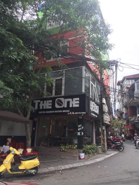 Sang nhượng quán The One Coffee Số 1A Phạm Huy Thông, Ba Đình, Hà Nội