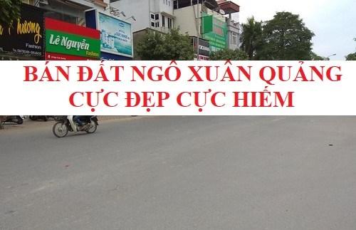 Bán đất Ngô Xuân Quảng Trâu Qùy 35m2 ngõ ô tô cực đẹp LH 0368.919.919