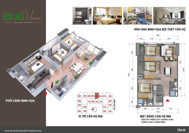 Bán căn hộ 3PN 85m2 tại 32 Đại Từ, Hoàng Mai, Hà Nội