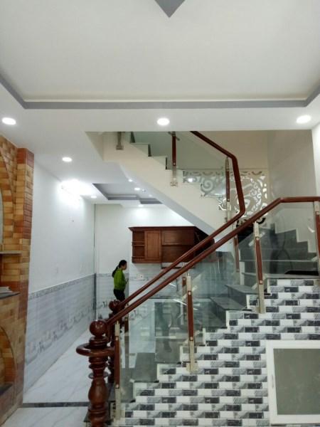 Nhà mới đẹp An Dương Vương P16, Q8. Giá 2.2 tỷ