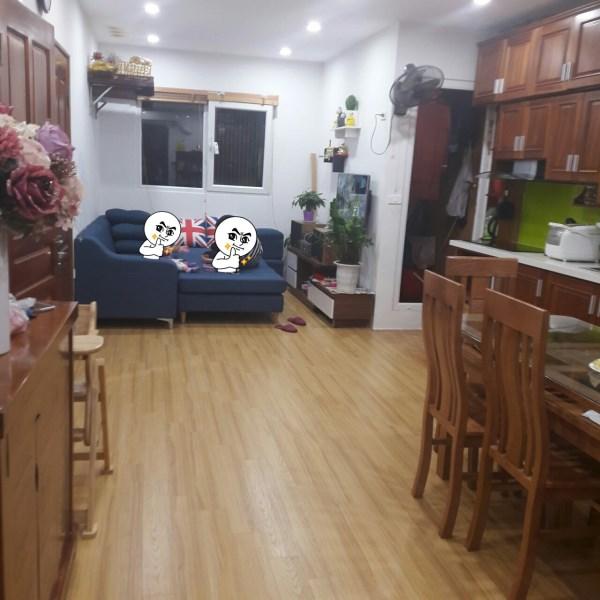 Chuyển nhà mới nên muốn bán lại căn 2pn, chung cư Nghĩa đô, nội thất cơ bản, giá rẻ.