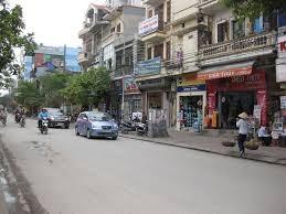 Cho thuê nhà mặt phố Trương Định  120m2.