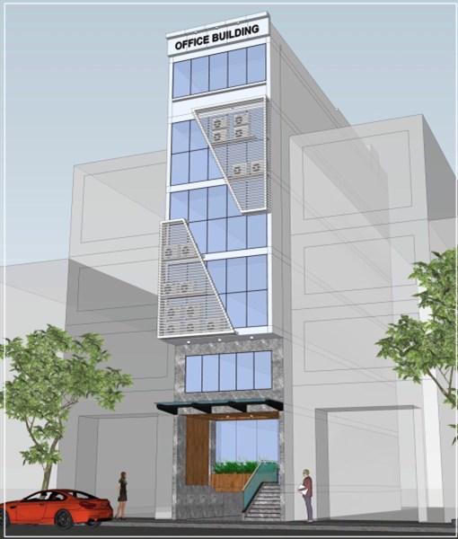 Cho thuê tòa nhà văn phòng mới 100% Quận Tân Bình - Khu kinh doanh sầm uất
