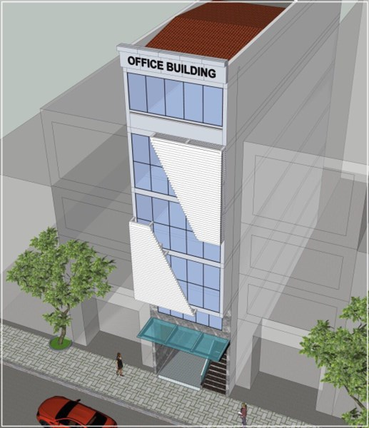 Cho  thuê Nguyên Tòa nhà văn phòng quận Tân Bình gía rẻ