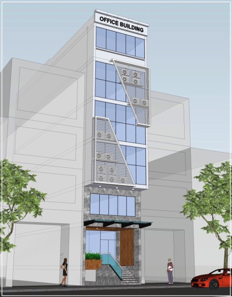 Cho thuê Tòa nhà Văn phòng giá rẻ đường A4 quận Tân Bình
