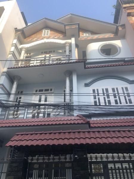 Hẻm 10m, Villa Cây Trâm, phường 11, Gò Vấp, 8x13m, 3 tầng, Giá 8,8 tỷ.