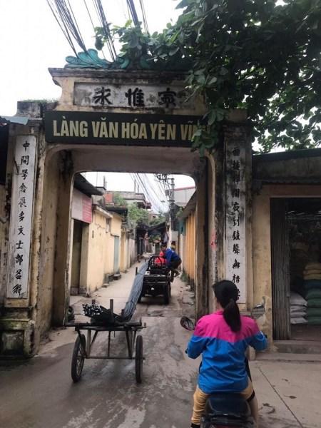 Bán đất Yên Vĩnh, Hoài Đức, HN 40m2 giá 980 triệu