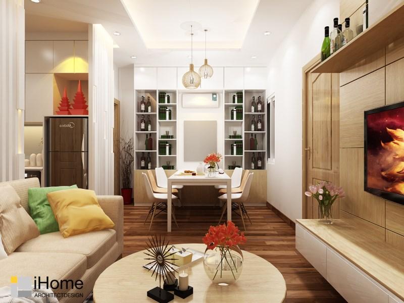 Căn hộ The Botanica - 2 phòng ngủ, Full nội thất đẹp như hình,View Quận 1- hướng Nam