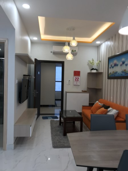 Cho thuê CH mini tại Kingston Residence rộng 40m2-view thành phố, full nội thất