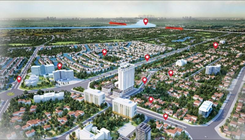 Cần bán lô biệt thự khu Lotus Villas, dự án Eurowindow River Park Đông Trù. Kinh doanh cực tốt.
