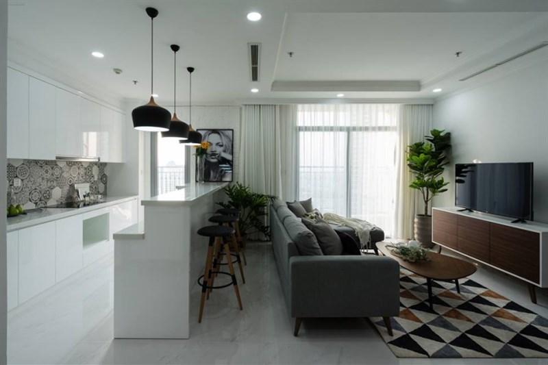 Cần cho thuê căn hộ Gelexia 885 tam trinh nhà nguyên bản để làm Văn phòng LH 0919271728