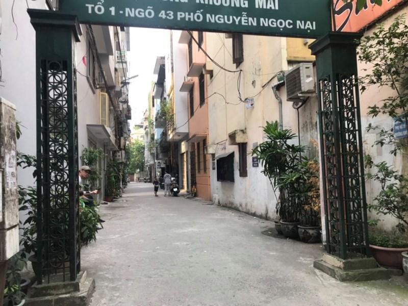 Cho thuê nhà mặt ngõ 41 Nguyễn Ngọc Nại, Thanh Xuân, Hà Nội