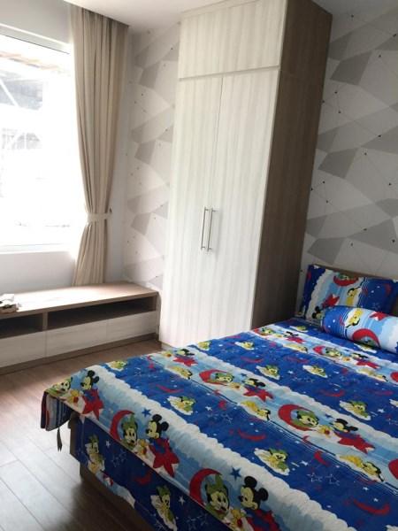 chủ nhà Cần cho thuê gấp căn hộ đồ cơ bản Gelexia, 885 Tam trinh căn 2 ngủ  LH 0913365083