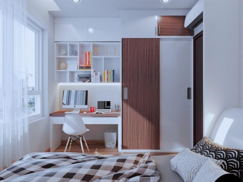 cần cho thuê gấp căn hộ chung cư trên đường tân mai gần cầu đền lừ căn 2 ngủ LH 0912606172