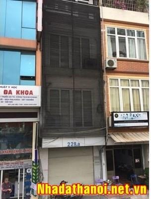 Chính chủ bán nhà 2 mặt đường số 228A đường Nghi Tàm, Yên Phụ, Tây Hồ