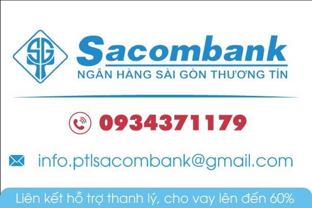Ngân hàng SACOMBANK ht thanh lý  43 nền đất và 6 lô góc thổ cư 100% khu vực - TP. HCM.
