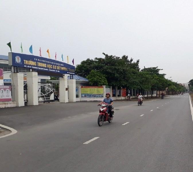 Bán đất tổ 14 Thượng Thanh, Long Biên, Hà Nội, hướng Đông, 60m2 giá 2.2 tỷ