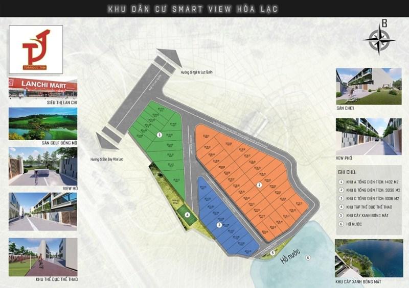 Bán đất nền dự án cách sân bay HÒA LẠC, HÀ NỘI 500M, diện tích 90m2 giá 625 Triệu