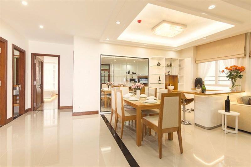 Gia đình cần bán cắt lỗ dự án MHDI 60 Hoàng Quốc Việt, 117m2, giá 28tr/m2.