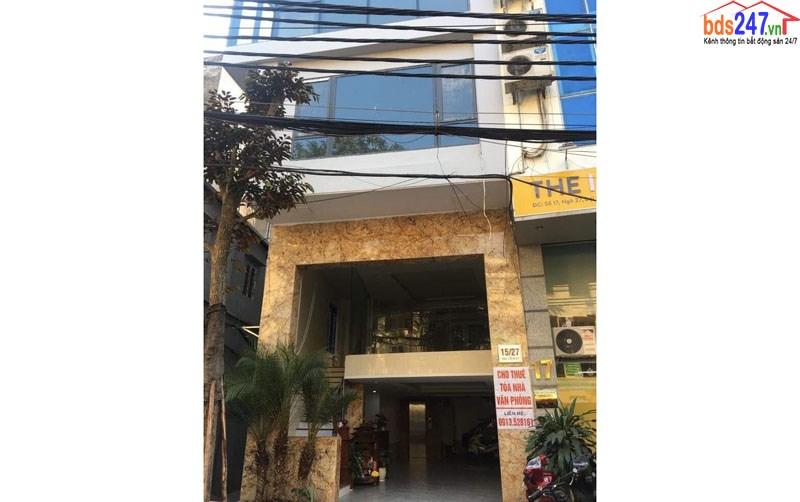 Cho thuê văn phòng kinh doanh Đại Cồ Việt - Quận Hai Bà Trưng - Hà Nội