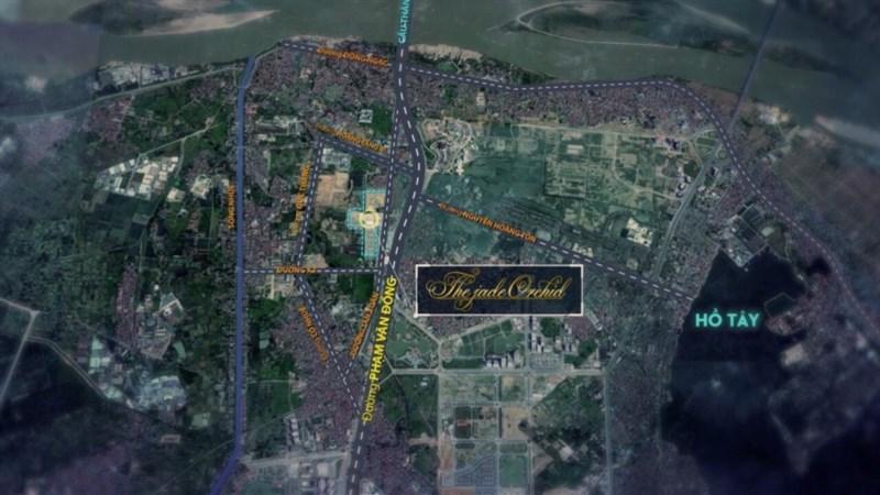 104 căn biệt thự lâu đài phố tại KĐT Bắc Cổ Nhuế - Chèm giá chỉ từ 190tr/m2