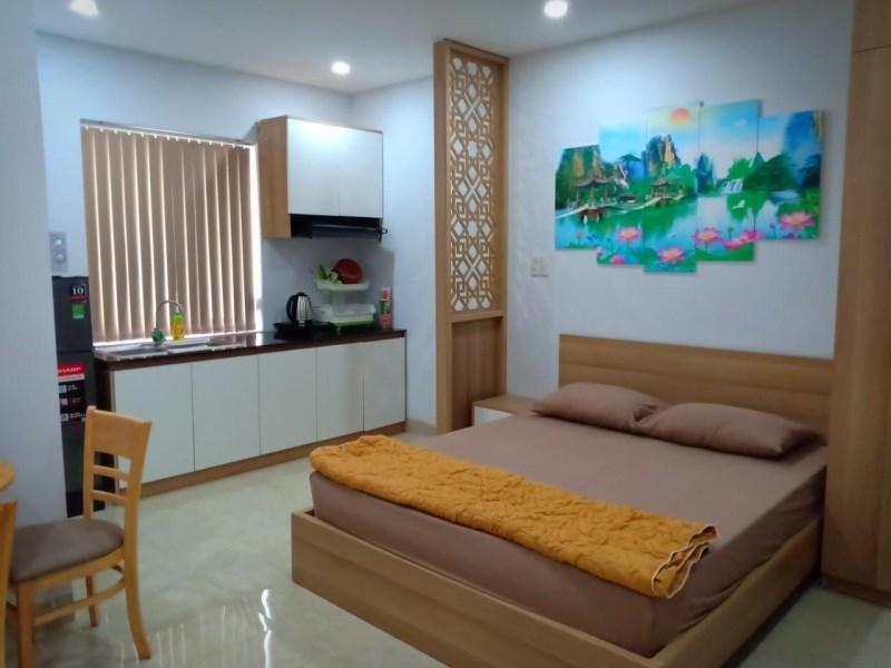Cho thuê studio Phan Tứ cao cấp 9.1 triệu_50m2,Quận Ngũ Hành Sơn  (0936213628)