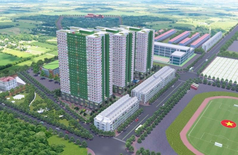 Mở bán Liền kề shophouse, shophouse khối đế dự án IEC Residences Tứ Hiệp, Thanh Trì.
