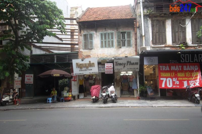 Bán nhà mặt phố số 4 Hàng Gà, P. Hàng Bồ, Hoàn Kiếm, Hà Nội