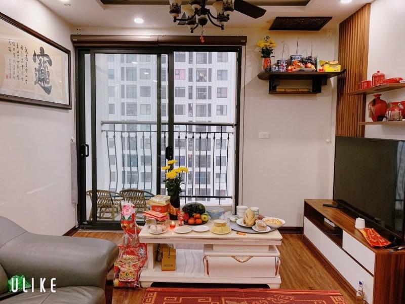 Bán nhanh CH 2pn  74m2 tòa a3 an bình city, nội thất đầy đủ, view nội khu