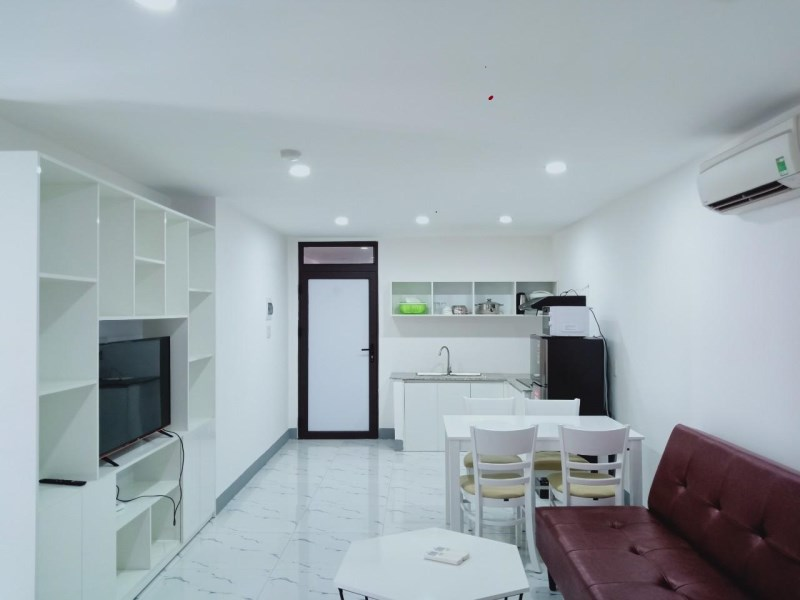 Căn hộ cho thuê full nội thất đẹp diện tích 50m2 đường Hoàng Diệu