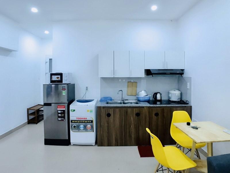 Cho thuê căn hộ diện tích 40m2 gần Sân bay, ở khu vực TTTP