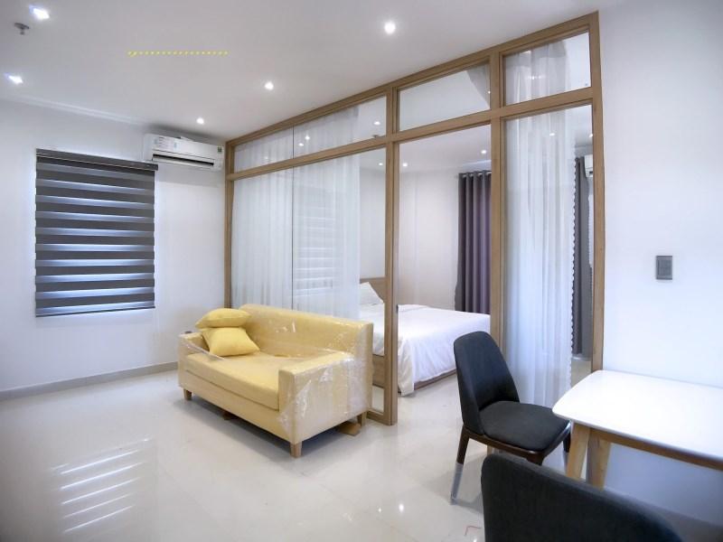 Căn hộ thiết kế nội thất đẹp, đầy đủ tiện nghi giá từ 6tr//th