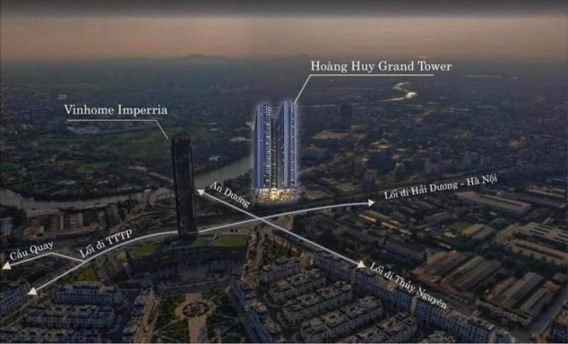 Dự án Chung cư Hoàng Huy Grand Tower. Sở Dầu. Hải Phòng.