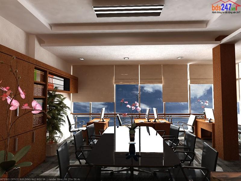 Cho thuê văn phòng mặt phố nhà số 2 Ngũ Xã, Ba Đình, Hà Nội