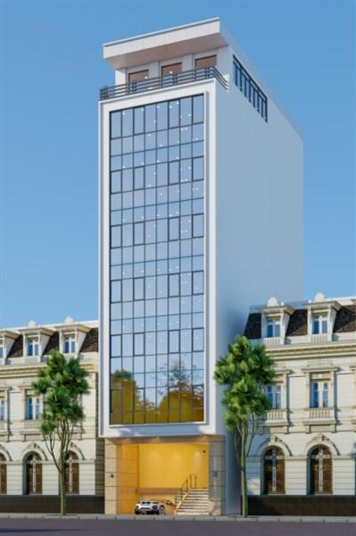 CHO THUÊ toà văn phòng 9 tầng mặt phố Thái Thịnh.... giá: 8000 usd