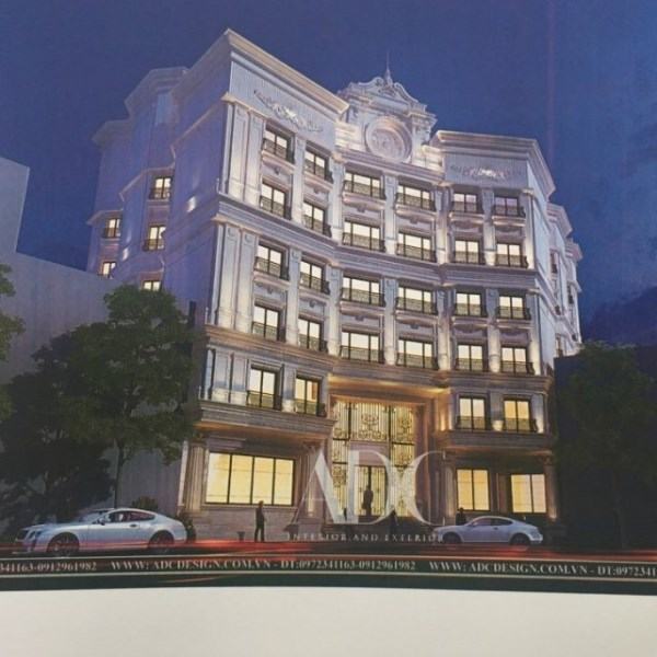 CHO THUÊ khách sạn 3 sao 8 tầng mặt vườn Hoa Duy Tân.. 40000 usd