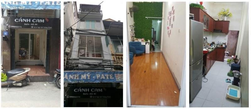 Bán nhà mặt ngõ số 47 ngõ 554 Trường Chinh, Đống Đa, 0944662961