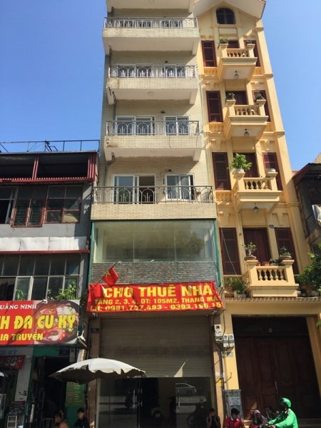 Cho thuê nhà mặt phố 124 Lạc Trung, Quận Hai Bà Trưng, Hà Nội